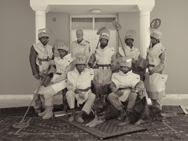 , 'A De-mining Team From The Mine Detection Centre In Kabul ,' 2010, Benrubi Gallery