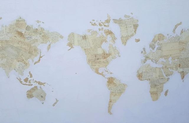 , 'Meditation Map,' 2017, Villa del Arte Galleries