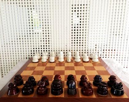 , 'Xadrez para R.Mutt (Chess for R.Mutt),' 2016, Anita Schwartz Galeria de Arte
