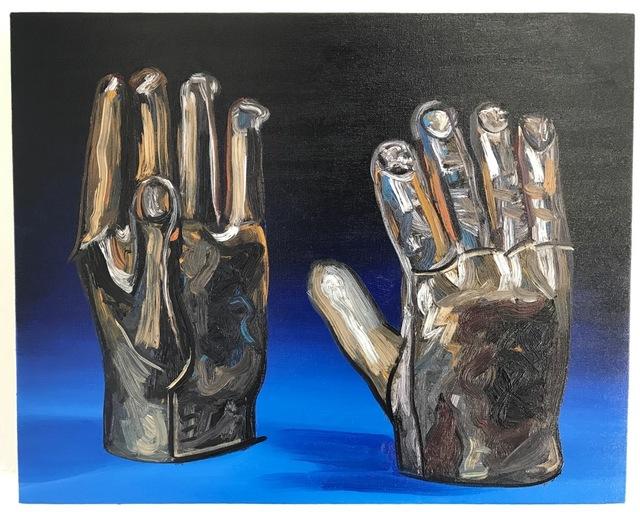 , 'Gold Hands,' 2017, Richard Heller Gallery