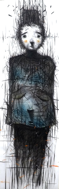 Iwan Effendi, 'Profile', 2020, Drawing, Collage or other Work on Paper, Charcoal, soft pastel on paper, Sapar Contemporary
