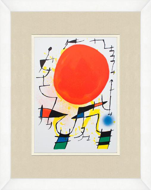 Joan Miró, 'Litografia original III', 1975, ArtWise