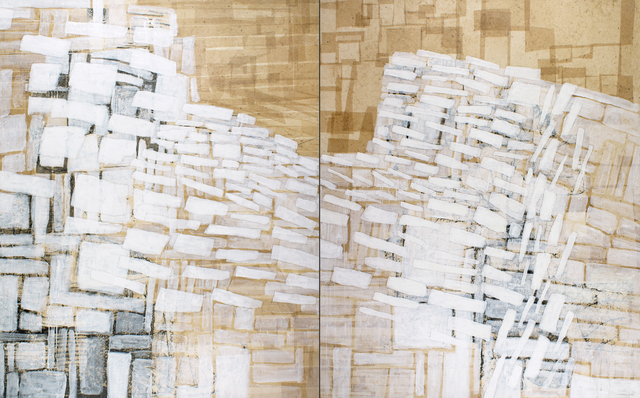 Eva Isaksen, 'Stone Wall Study - Divided', 2018, Foster/White Gallery