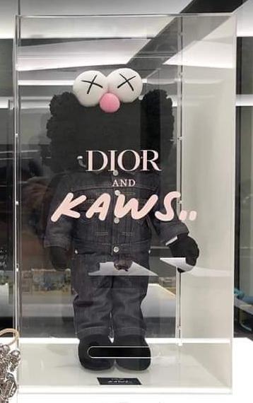 KAWS, 'Kaws BFF Dior Plush Black', 2018, Gin Huang Gallery