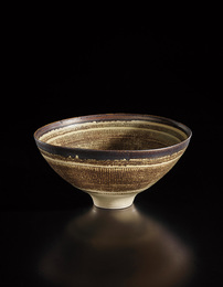 Monumental footed bowl