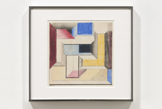 , 'Drawing for Construction #4,' 1968, Jessica Silverman Gallery