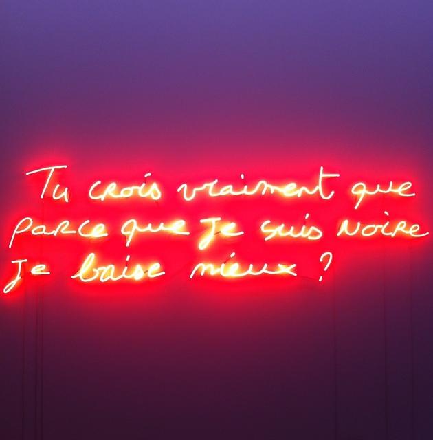 , 'En sa présence,' 2014, WIELS