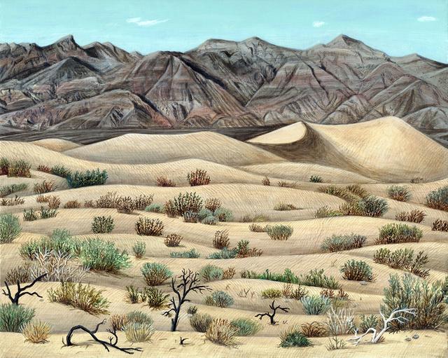 , 'Mesquite flat dunes ,' 2016, sp[a]ce