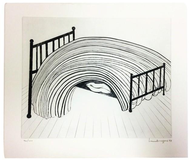 , 'Bed,' 1997, Galerie Maximillian