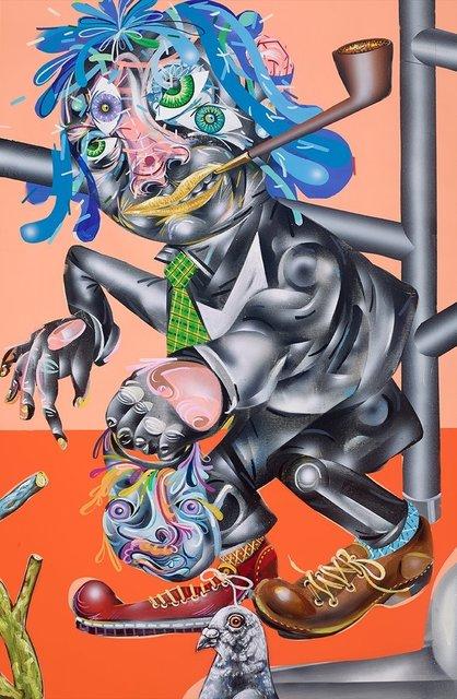 , 'Shaken Away,' 2015, Mark Moore Fine Art