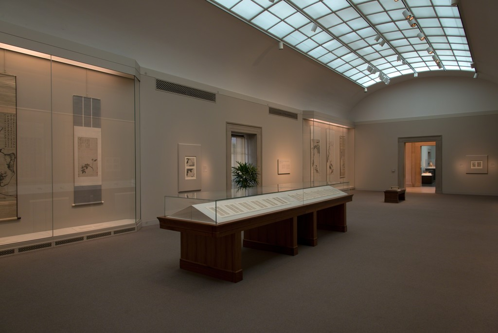 "Gallery view, ""Enigmas: The Art of Bada Shanren (1626–1705),"" Freer Gallery of Art, Smithsonian. Photo by Robert Harrell."