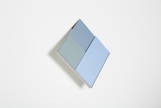 , 'overlap (blue), after otti berger,' 2017, Josée Bienvenu