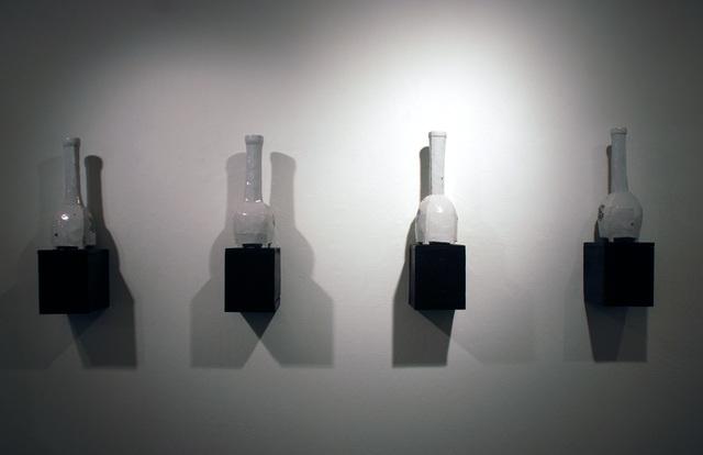 , 'Bottle with Box I-IV,' 2014, JAYJAY
