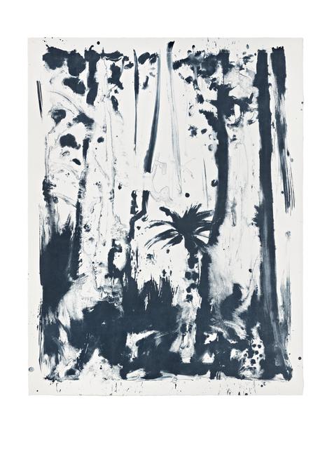 , 'Indigo Forest 4,' 2015, STPI