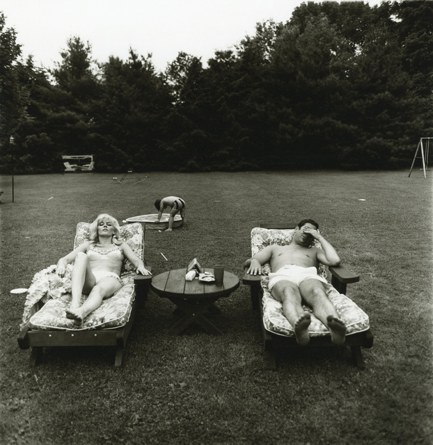 , 'A family on their lawn one Sunday in Westchester, N.Y.,' 1968, Pace/MacGill Gallery