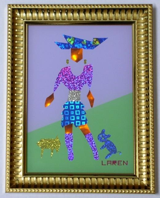 Benito Laren, 'Modelo acompañado,' 2014, Miau Miau