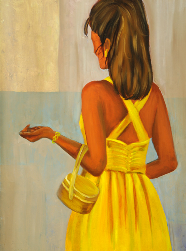 , 'Girl in Yellow Dress,' , Zenith Gallery
