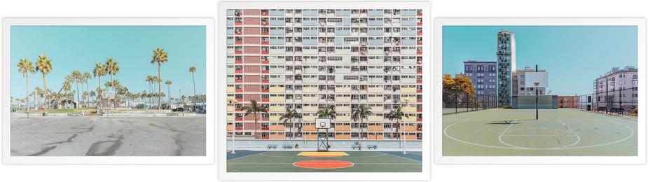 SFO Playground, Hong Kong Playground & LA Playground (three works)