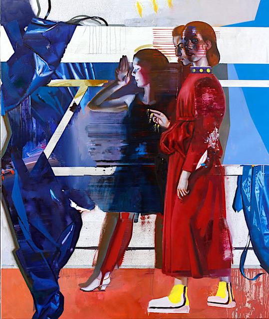 , 'Diptych 3 Tafel 2,' 2019, Josef Filipp Galerie