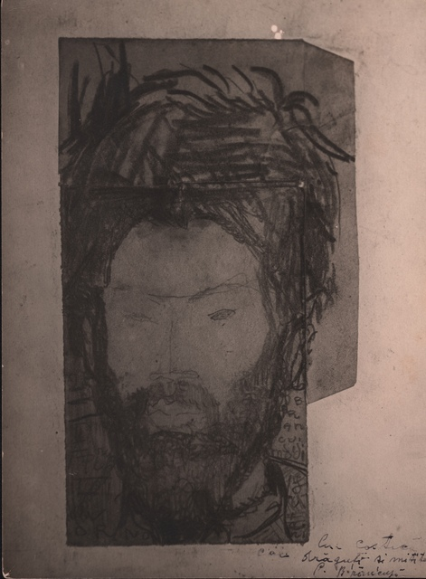 , 'Modigliani's Drawing (Portrait of Brancusi),' , Grob Gallery