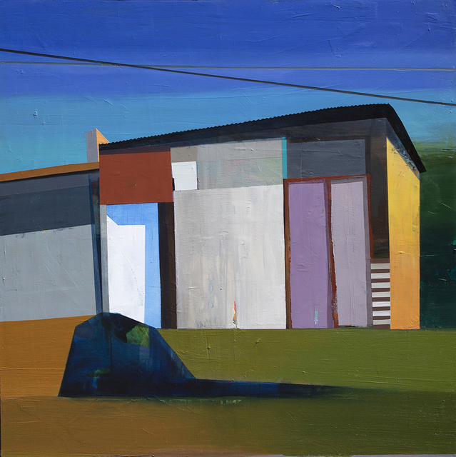Siddharth Parasnis, 'California Baja #28', 2020, Painting, Oil on canvas (framed), Sue Greenwood Fine Art