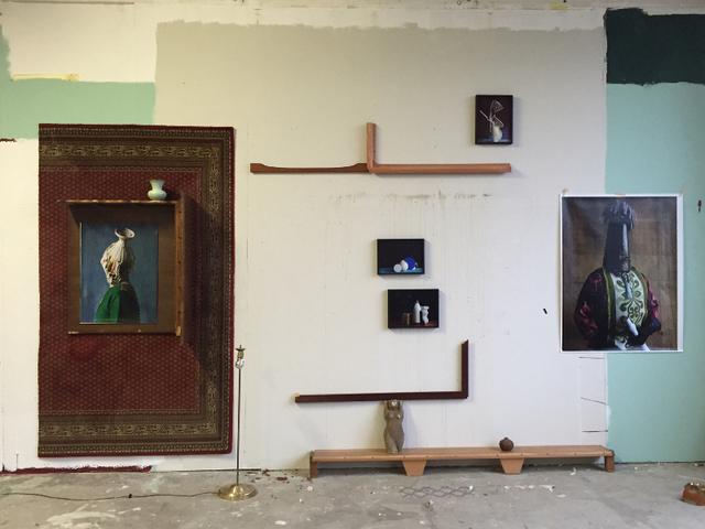 , 'La Mur El D'Or,' 2014, PABLO´S BIRTHDAY