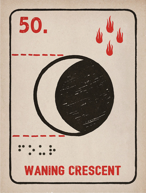 Daniel Martin Diaz, '50. Waxing Crescent', 1989, La Luz de Jesus Gallery