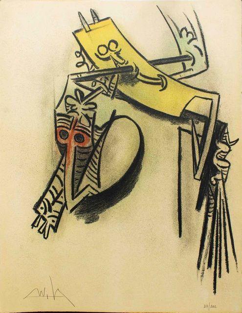 "Wifredo Lam, 'Montee des Sèves - from the suite ""Pleni Luna""', 1974, Wallector"
