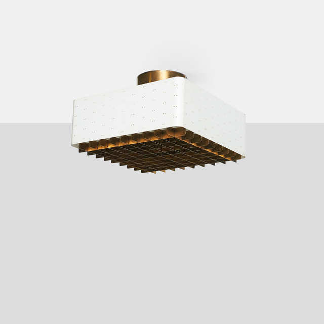 , 'Ceiling Lamp #9068,' c1950s, Almond & Co.