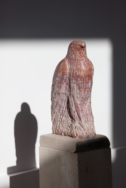 , 'Red Marble Hawk,' 2015, Tayloe Piggott Gallery