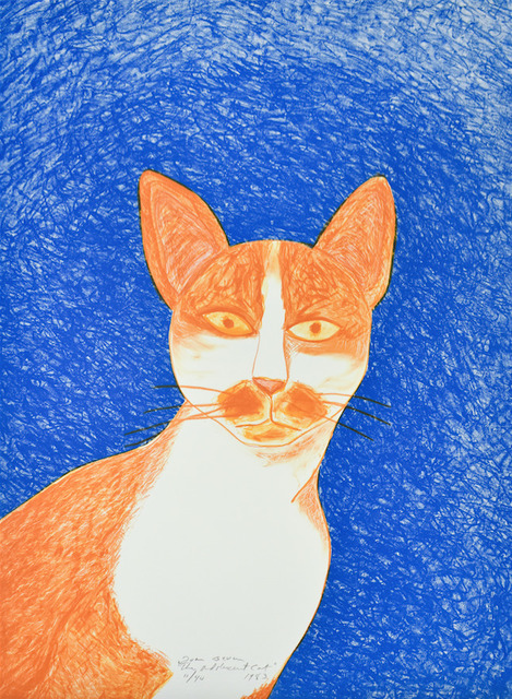 Joan Brown, 'Adolescent Cat', 1983, Anglim Gilbert Gallery