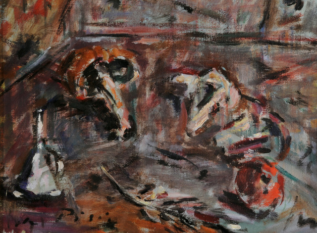 Filippo De Pisis, 'Natura Morta', 1946-1947, Painting, Oil on canvas, Casa d'Arte San Lorenzo