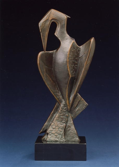 , 'Preening Heron,' , Trailside Galleries