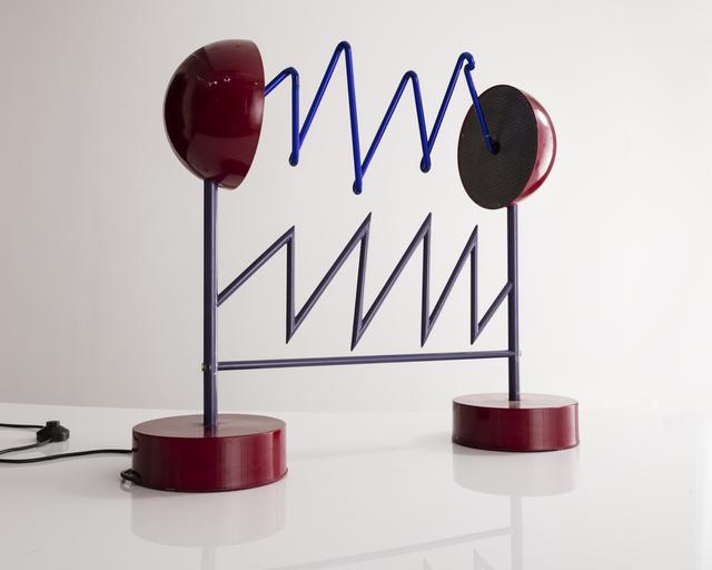 """, '""""Scarica Elettrica"""" Table Lamp ,' ca. 1985, R & Company"""