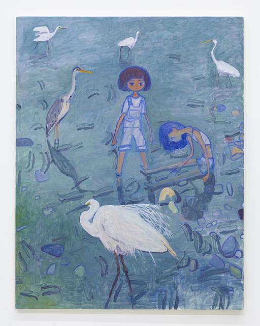 , 'Many kinds of herons,' 2015, Tomio Koyama Gallery