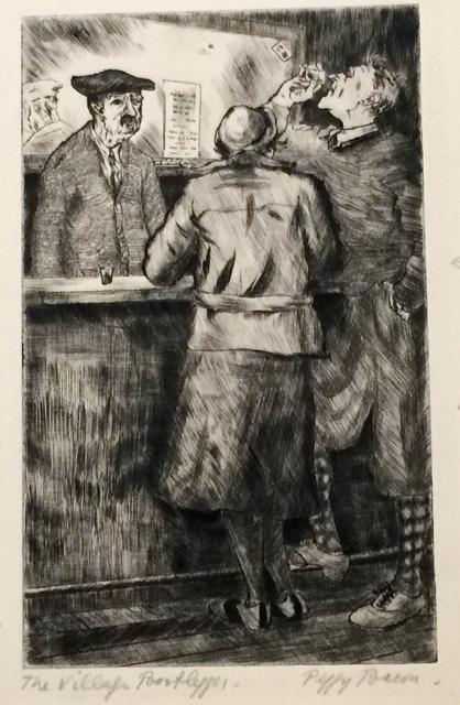 Peggy Bacon, 'THE VILLAGE BOOTLEGGER', 1933, Edward T. Pollack Fine Arts