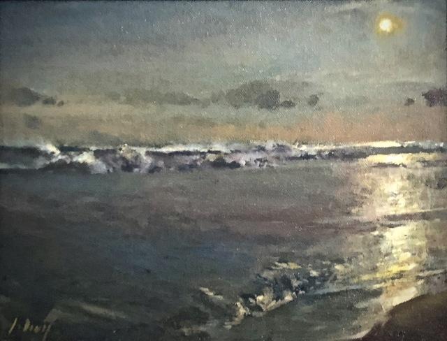 Julyan Davis, 'Twilight', 2019, Painting, Oil on canvas panel, Helena Fox Fine Art