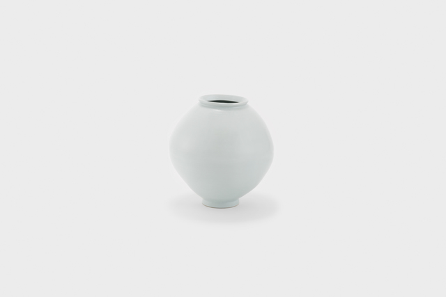 , 'White porcelain moon jar,' 2017, Gallery LVS