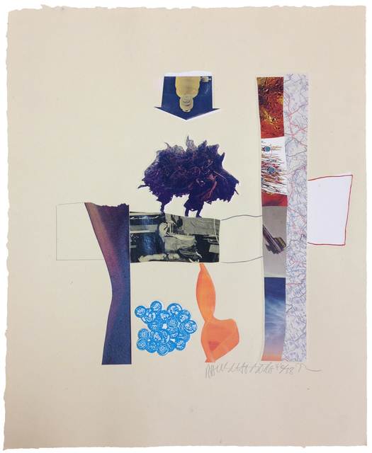 Robert Rauschenberg, 'Horsefeathers Thirteen-XIII', 1972, Print, 8-color offset lithograph, screenprint, pochoir, and embossing with unique collage elements, Gemini G.E.L.