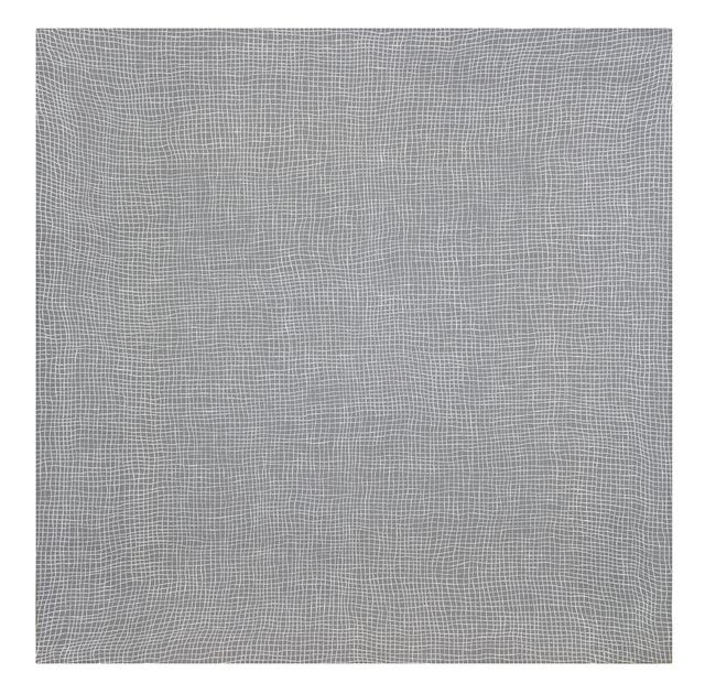 , 'Glory Hole (white on grey) (vibgyor),' 2011, Hiram Butler Gallery