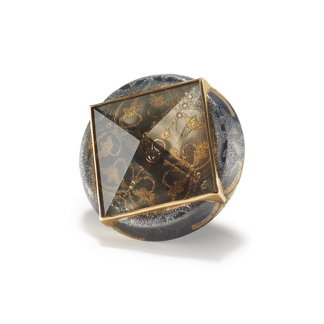 , 'Smoky Quartz Munsteiner Ring,' ca. 2018, Patina Gallery