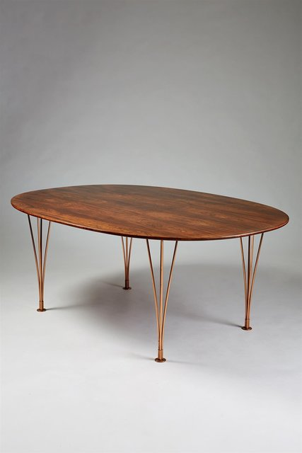 ", '""Superelipse"" dining table,' 1964, Modernity"