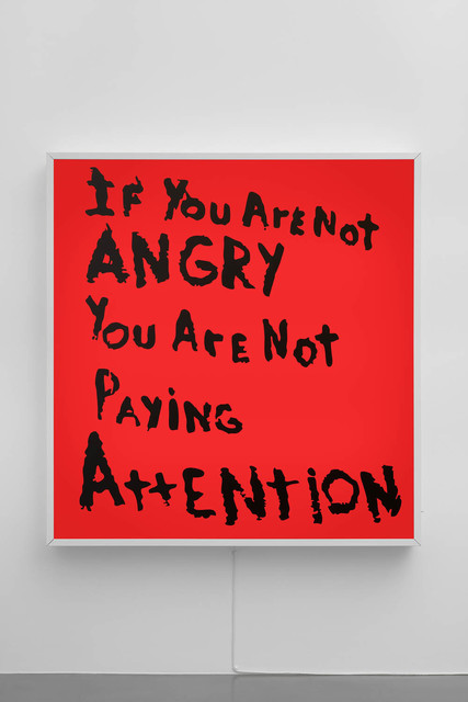Sam Durant, 'If You Are Not Angry Then You Are Not Paying Attention', 2017, Sadie Coles HQ