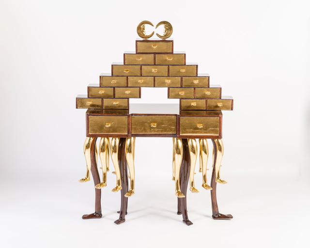 , 'Escribanía de la princesa Lucinda Bonaparte (Princess Lucinda Bonaparte's Writing Desk),' 2016, M+B