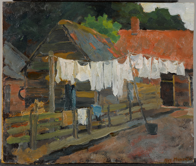 , 'Farmhouse with Wash on the Line,' 1897, Turner Contemporary