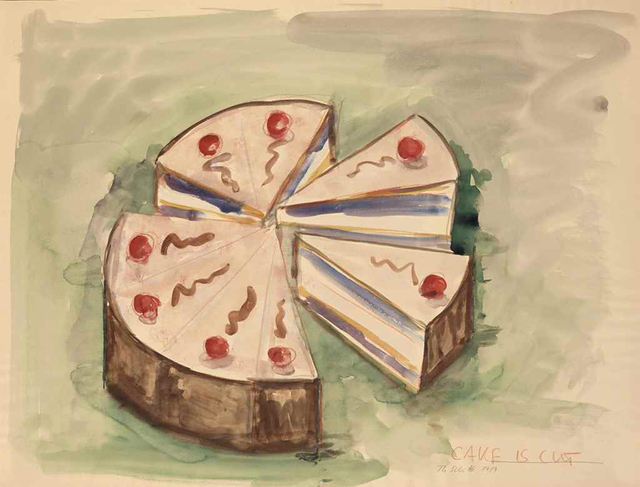 , 'Cake is Cut,' 1989, Carolina Nitsch Contemporary Art