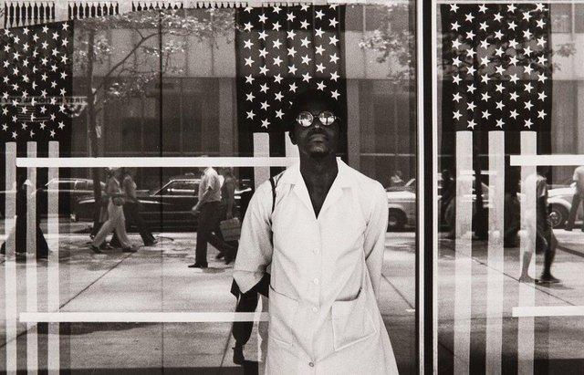 , 'America Seen Through Stars and Stripes, New York City, NY,' 1972, Jenkins Johnson Gallery
