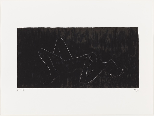 , 'Everything but the Outline Blacked-in,' 2006, Paul Stolper Gallery