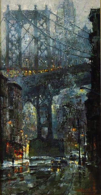 Christopher Zhang, 'Manhattan Bridge', 2019, The Galleries at Salmagundi