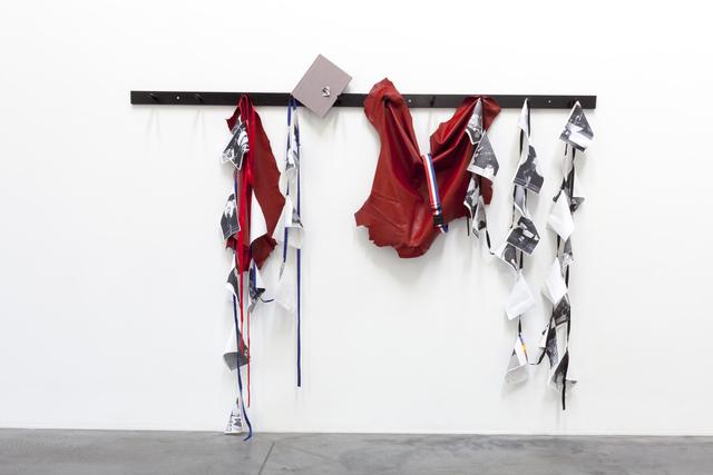 , 'Peg Rail #4 (More Young Americans),' 2012, Tatjana Pieters